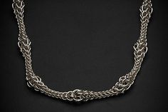 Chain Reaction  |  Classic Collection Chain Reaction, Classic Elegance, Classic Collection, Chainmaille, Jewelry Making, Sterling Silver, Elegant, Fashion, Concept