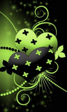 Green Hearts this is the background on my phone X-D Heart Wallpaper, Images Wallpaper, Computer Wallpaper, Wallpaper Backgrounds, Green Wallpaper, Iphone Wallpaper, I Love Heart, With All My Heart, Happy Heart