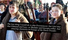 Narnia Confessions I've always see them as the perfect brother & sister. This will NEVER change! :) <3