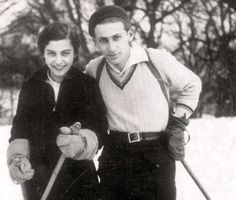 Miklos Radnoti and his wife, Fanni