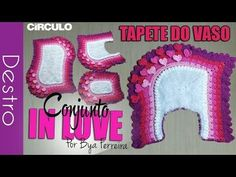 [Destro] Conjunto de banheiro In Love - Tapete do vaso | BYA FERREIRA - YouTube