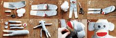 Sock Monkey how-to!