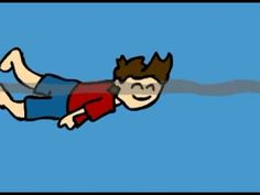 An older Eddsworld cartoon by the brilliant, but sadly passed on, Edd Gould that shows a great waking up sequence.