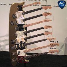 What should call this 9 neck beast? Piano, Guitar Photos, Unique Guitars, Fender Custom Shop, Jimmy, Fender Telecaster, Jaz Z, Mandolin, Cool Guitar