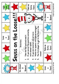 phonics game... Seuss on the Loose