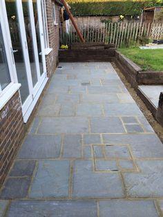 Paving Stones - Back Garden