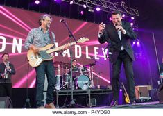 June Tony Hadley in concert at Lets Rock Scotland, Dalkeith Country Park, Edinburgh, Great Britain June 2018 Credit: Stuart Westwood/Alamy Live News - Stock Image Rewind Festival, Festival Hall, Ballet Lifts, 23 Juni, Henley Festival, Gary Kemp, Martin Kemp, Edinburgh Uk, Henley On Thames