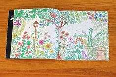 Secret Garden, coloring book