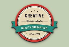 Retro Badge in Illustrator