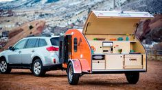 Stunning Teardrop Camper Ideas And Designs, There are lots of reasons why folks want teardrop trailers. A teardrop'' trailer is a little camper. Most teardrop trailers arrive with some basic cap. Teardrop Trailer Interior, Small Camper Trailers, Teardrop Camper Trailer, Small Travel Trailers, Small Trailer, Small Campers, Rv Trailers, Trailers For Sale, Vintage Trailers