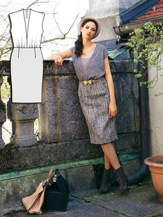 Read the article 'Fifties Revival: 11 New Women's Sewing Patterns' in the BurdaStyle blog 'Daily Thread'.