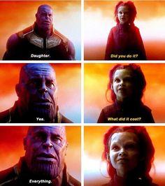 """""""¿A qué costo?"""" -Gamora"""
