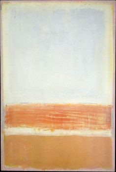 "abstrakshun: "" Mark Rothko untitled - 1954 Metropolitan Museum of Art, NYC "" Mark Rothko, Rothko Art, Tachisme, Abstract Painters, Abstract Art, Modern Art, Contemporary Art, Franz Kline, Edward Hopper"