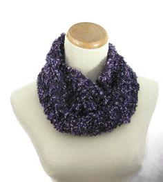 Neck Warmer Bulky Cowl Hand Knit Scarf Knit by ArlenesBoutique