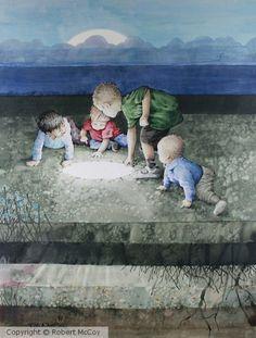 on Aqua board sold Aqua, My Arts, Watercolor, Board, Painting, Watercolour, Watercolor Painting, Painting Art, Paintings
