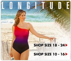 Plus Size Swimwear, Plus Size Bathing Suits Women's Swimsuits-SwimsuitsForAll