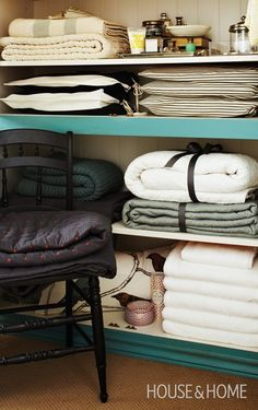 Bind Blankets | Photo Gallery: Blanket Display Ideas | House & Home | Photo by Angus Fergusson