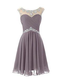Dresstells® Short Prom Dresses Sexy Homecoming Dress for Juniors Birthday Dress Grey Size 2 Dresstells http://www.amazon.com/dp/B00MFDST4E/ref=cm_sw_r_pi_dp_EHEcwb0QJ37XG