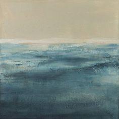 """Saatchi Art Artist xanthippe tsalimi; Painting, """"blue moment"""" #art"""