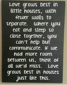 Little houses...