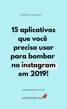 15 Aplicativos para Instagram Story Instagram, Free Instagram, Instagram Blog, Online Marketing, Social Media Marketing, Digital Marketing, Internet Marketing, Instagram Marketing Tips, Vsco