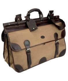 c5a3a2c04217 Purveyor s of Fine Country Clothing   Field Accessories. Baron Canvas  Travel Bag ...