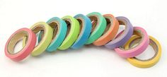 10 Pcs Decorative Rainbow Sticky Paper Adhesive Tape $5.17 Shipped! - http://couponingforfreebies.com/10-pcs-decorative-rainbow-sticky-paper-adhesive-tape-5-17-shipped/