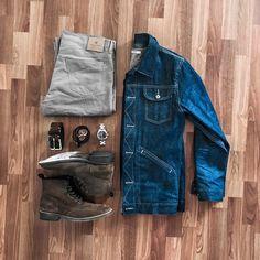 #3sixteen #outfitgrid #buckmason #877workshop #stylegrid #ironheartarmy #Thursdayboots #outfitlayout #leejeans #shockoe_atelier #timex #남자스타일 #lee101 #selfedge #mensboots #thingsorganizedneatly #denimaddict #sharpgrids #MRPORTER #stylishgridgame #jcrewalways #layflat #ootdgrid #vintagestyle #rogueterritory #nanamica #ivystyle #filsonlife