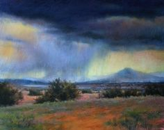 Letting Go by Lisa Mitchell Pastel ~ 16 x 20