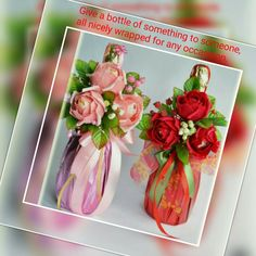 Christmas Ideas, Glass Vase, Bottle, Home Decor, Decoration Home, Room Decor, Flask, Home Interior Design, Jars