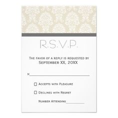 This DealsLinen Beige and Charcoal Damask Pattern Personalized Inviteso please read the important details before your purchasing anyway here is the best buy