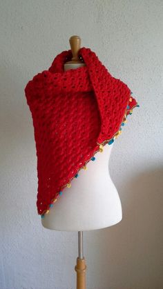 Rode omslagdoek