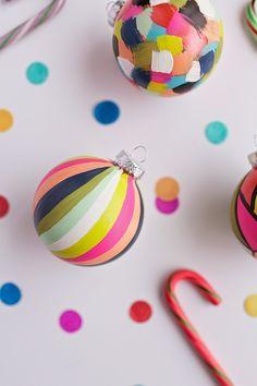 Mi Mundo sabe a Naranja: DIY: Bolas para el árbol de Navidad