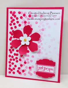 Kay Kalthoff: Stamping to Share: August Demo Meeting Swaps - Part One - 8/14/14 (by Irene Boesen)