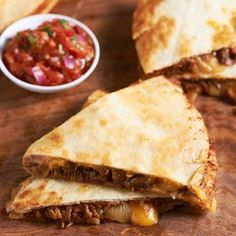 In the mood for Tex-Mex. We love this for Beef Brisket Quesadillas from David Venable QVC. Entree Recipes, Mexican Food Recipes, Cooking Recipes, Mexican Dishes, Beef Brisket Recipes, Left Over Brisket Recipes, Hamburger Recipes, Great Recipes, Favorite Recipes