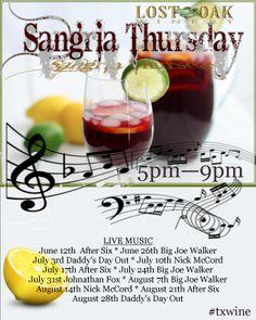 Sangria Thursday