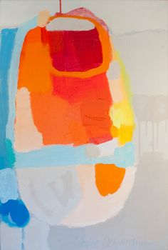 """""""Above Bored"""" by Claire Desjardins – 20″x30″ – Acrylics on canvas"""