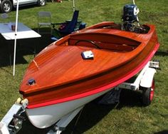 Kijiji: CEDAR STRIP LAKE CRAFT RUNABOUT | Runabouts | Pinterest | Boating, Wooden boats and Wood ...