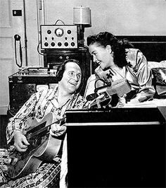 Les and Mary at Home by Les Paul Foundation, via Flickr