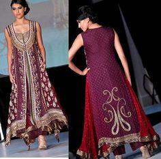 Elite Fashion Wears Collection 2012 for Girls Pakistani Couture, Pakistani Bridal Wear, Pakistani Outfits, Indian Outfits, Pakistani Clothing, Elite Fashion, Fashion Models, Fashion Women, Shirt Design For Girls