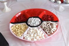 Pokéball serving plate.
