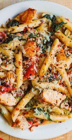 Pasta Recipes, Chicken Recipes, Dinner Recipes, Cooking Recipes, Healthy Recipes, Dinner Entrees, Healthy Breakfast Recipes, Meat Recipes, Healthy Meals