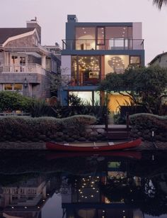 by Julius Shulman US · one photo Sherman Canal Http://venice.modernhometours.com 2012 Venice Home Tours Glen Irani Architects http://www.glenirani.com