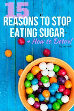 15 Reasons to Stop Eating Sugar + How to Detox! | Avocadu.com