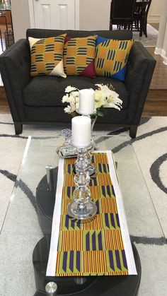 Shop African decor items at afrilege.com African Crafts, African Home Decor, African Interior Design, African Design, African House, Feature Wall Bedroom, Design Your Dream House, Diy Outdoor Furniture, African Fabric