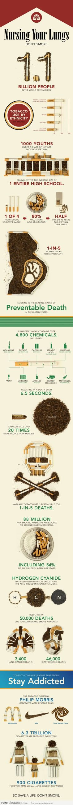 An Infographic About Smoking