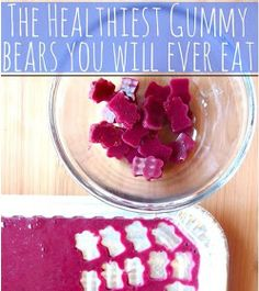 Easy Homesteading: Homemade Gummie Bear Recipes