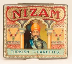 Nizam Tobacco Tin - Manifest Auctions