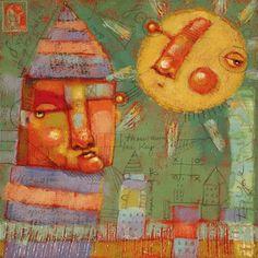 """Keeper Of The Keys"" - Original Fine Art for Sale - � Brenda York"
