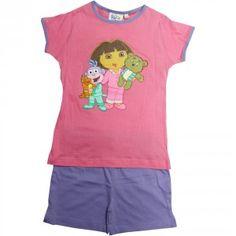 Pijama rosa oscuro de #Botas y #DoraExploradora por sólo 8.39€!